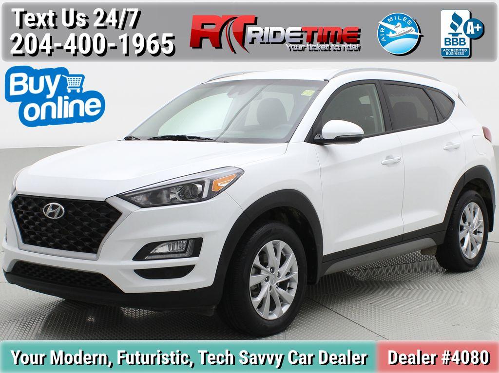 White[Crystal White] 2020 Hyundai Tucson Preferred AWD