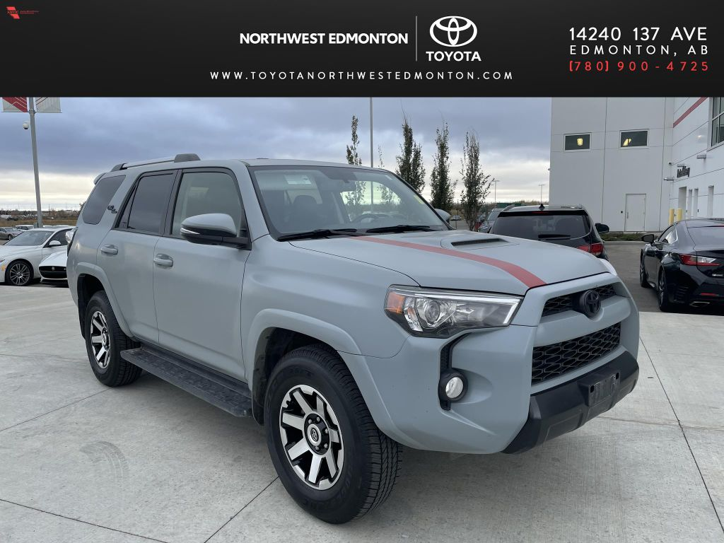 Silver 2018 Toyota 4Runner 4DR SUV 4WD