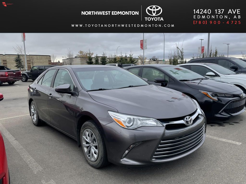 Gray 2016 Toyota Camry LE