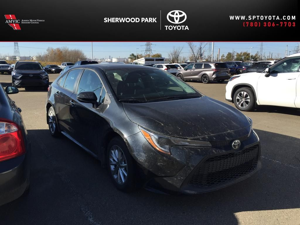 Black[Black Sand Pearl] 2020 Toyota Corolla LE UPGRADE / SUNROOF