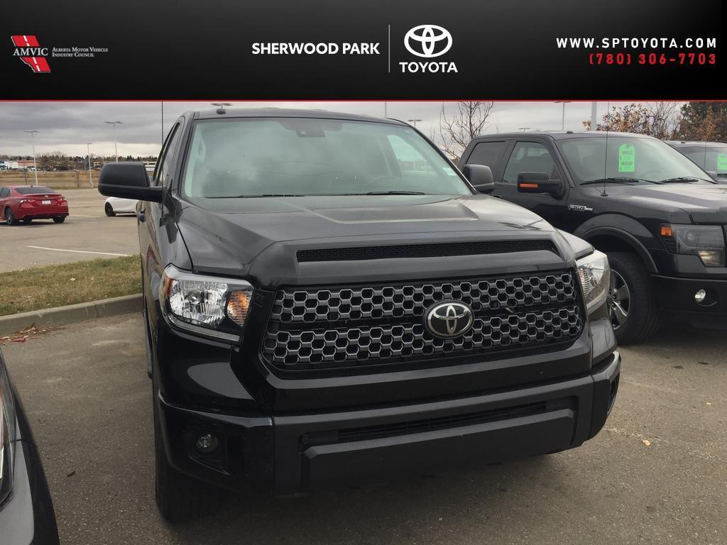 Black[Midnight Black Metallic] 2019 Toyota Tundra DBL CAB SR5 PLUS / 5.7L