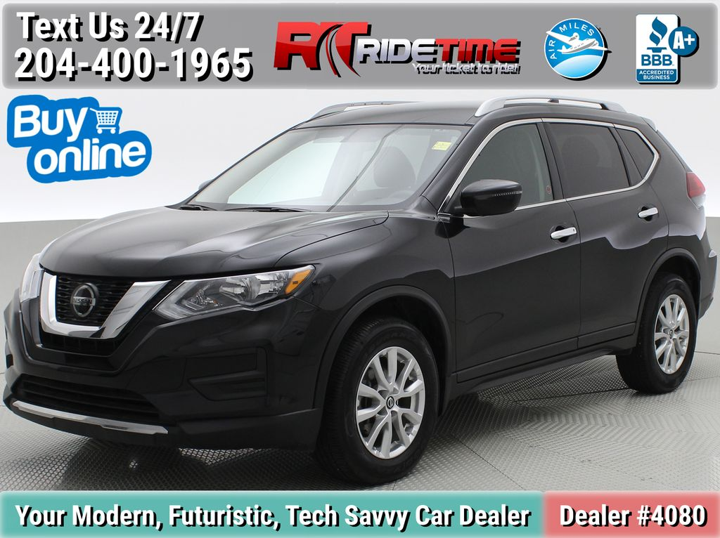Black[Magnetic Black Metallic] 2020 Nissan Rogue Special Edition AWD - Heated Front Seats