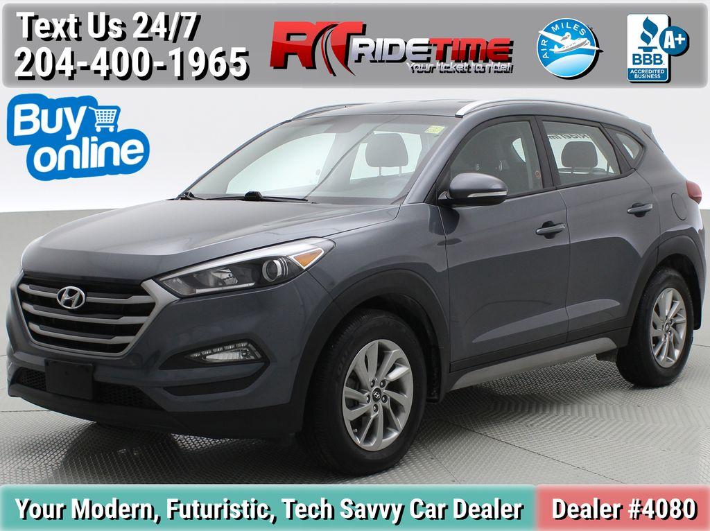 Gray[Coliseum Grey] 2018 Hyundai Tucson Premium AWD - Heated Seats, Backup Camera